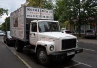 Фургон на шасси ГАЗ-3309 #Т 193 УС 177  . Москва, Новопетровская улица