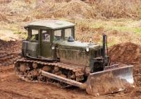 Бульдозер на базе трактора Т-74. Татарстан, Елабуга, Набережная улица