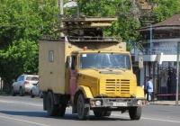 Автоподъёмник для ремонта контактной сети АП-7МП на шасси ЗиЛ-433362 #С 924 КВ 45. Курган, Пролетарская улица