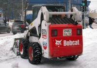 Малогабаритный фронтальный погрузчик Bobcat S175 #2483 ТХ 72. Тюмень, улица Герцена