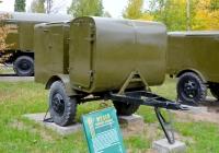 Дезинфекционно-душевая установка ДДП-2. Саратов, парк Победы