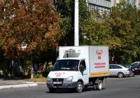 Рефрижератор на шасси ГАЗ-3302 #Т 654 НМ. Приднестровье, Тирасполь, улица Карла Либкнехта