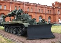 Инженерная машина разграждения ИМР-1. Санкт-Петербург, Музей артиллерии, инженерных войск и войск связи