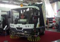 Коммунальная машина RAVO 5 ISeries на автовыставке . Тюмень, Севастопольская улица