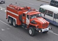 Пожарная автоцистерна на шасси Урал-4320-40 #602KP02. Алматы, улица Саина