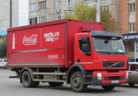 Фургон на шасси Volvo FE 4x2 #К 128 ОС 174. Курган, улица Куйбышева