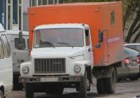 Аварийная мастерская РЖМ-52 на шасси ГАЗ-3307 #А 861 ЕЕ 45. Курган, улица Уральская