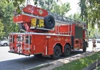 Пожарная автоцистерна-лестница АЦЛ-32(6520) на шасси КамАЗ-6520 #816 KP 02. Алматы, проспект Алтынсарина