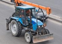 Подъёмник монтажный специальный ОПТ-9195 на базе трактора ТТЗ-80-10. Алматы, проспект Рыскулова