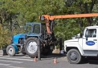 Подъёмник монтажный специальный ОПТ-9195 на базе трактора ТТЗ-80-10. Алматы, проспект Абая