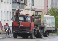 Автокран КС-3577-2 на шасси МАЗ-5337 #У 815 ЕР 45. Курган, улица Кравченко