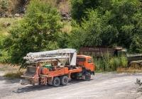 Автобетононасос АБН 75/21 на шасси КамАЗ 53215-1069. Армения, Ереван