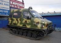 """Вездеход ГАЗ-3409 """"Бобр"""". Тюмень, Товарное шоссе"""