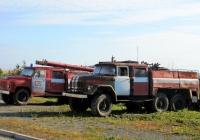 Пожарные автомобили АЦ-30(53-12)-106В.01 на шасси ГАЗ-53-12 и АЦ-40(131)-137А на шасси ЗиЛ-131Н. Свердловская область, Краснотурьинск