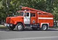 Пожарная автоцистерна  АЦ-2,5-40(433362) на шасси ЗиЛ-433362 #922 KP 02. Алматы, проспект Алтынсарина