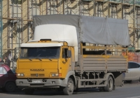 Бортовой грузовик КамАЗ-4308 #М 271 ЕН 45. Курган, улица Куйбышева