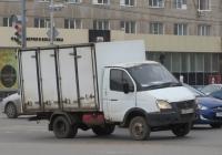 "Хлебный фургон 28180 на шасси ГАЗ-3302 ""Газель"" #О 697 КА 45. Курган, улица Куйбышева"