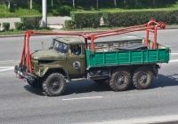 Грузовик ЗиЛ-131 с установкой #A258FX. Алматы, улица Саина