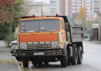 Самосвал КамАЗ-55111 #Х 989 КН 45. Курган, улица Климова