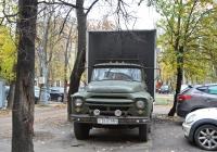 Фургон на шасси ЗиЛ-431410 #У 3461 МН  . Москва, Коптевская улица
