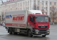Изотермический фургон Schmitz Cargobull M.KO 7.7 FP 25 на шасси MAN TGS 28.360  #А 321 СМ 37. Курган, улица Гоголя