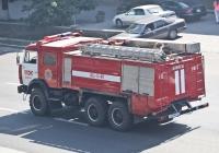 Пожарная автоцистерна АЦ-5-40(43114) на шасси КамАЗ-43114 #809 KP 02. Алматы, проспект Рыскулова