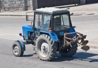 Трактор Беларус-82.1 с навесным буром #A 648 AHD. Алматы, проспект Рыскулова