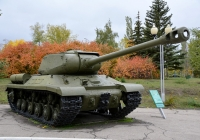 Танк ИС-2М. Саратов, парк Победы