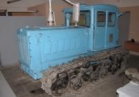 Гусеничный трактор Т-74. Омск