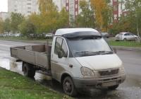 Бортовой грузовик на шасси микроавтобуса ГАЗ-32213 #К 644 КХ 45. Курган, улица Карла Маркса
