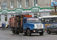 Мусоровоз МКМ-2 на шасси ЗиЛ-433362 #М 806 КЕ 45. Курган, улица Ленина