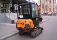Малогабаритный экскаватор Hanix H158-2  #7165 ТУ 72. Тюмень, улица Газовиков