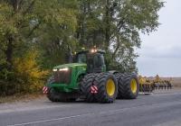 Трактор John Deere 9510R. Винницкая область, Барский район, с. Мартыновка