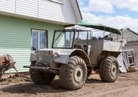 Самодельный трактор. Томская область, Северск, посёлок Самусь