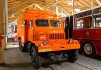 Техпомощь на шасси Praga V3S #AX 04-30. Чехия, Прага, Музей городского транспорта