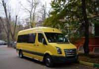 Микроавтобус на базе Volkswagen Crafter. Москва, Коптевская улица