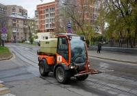 Коммунальная уборочная машина  . Москва, 3-й Самотёчный переулок