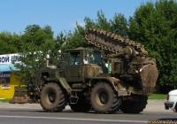 Полковая землеройная машина ПЗМ-2 на базе трактора Т-155. Алтайский край, Барнаул, Власихинская улица