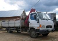 Бортовой грузовик с КМУ Чайка-Сервис 3784RB на шасси Hyundai HD78 #Н 220 УЕ 96. Свердловская область, Лосиный