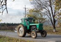 Трактор Т-40М #6094 ШР с корпусным плугом. Закарпатская область, Иршавский район, Долгое