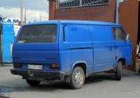 Цельнометаллический фургон Volkswagen Transporter T3  #О 543 РО 66. Свердловская область, Талица