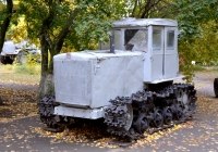 Трактор ДТ-54А. Саратов, парк Победы