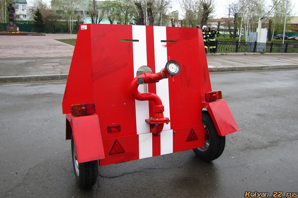 Бронещит для лафетного ствола БЛС-2-40. Алтайский край, Барнаул, площадь Свободы