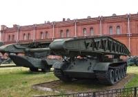 Танковый мостоукладчик МТУ.  Санкт-Петербург, Музей артиллерии, инженерных войск и войск связи