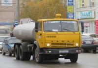 Цистерна для перевозки технической воды, переоборудованная из битумовоза ДС-138Б на шасси КамАЗ-53213 #Е 815 ВВ 45. Курган, улица Куйбышева