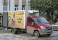 """Фургон на шасси ГАЗ-А23R22 """"Газель Next"""" #В 972 КХ 45. Курган, улица Володарского"""
