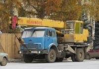 Автокран КС-3577 на шасси МАЗ-5334 #М 837 КВ 45. Курган, улица Володарского