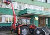 Кран-манипулятор ДЭМ-151 на базе трактора Беларус-92П. Алматы, проспект Раимбека