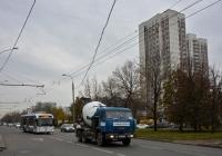 Бетоносмеситель на шасси КамАЗ-55111 #М 901 ОС 177. Москва, улица Лескова