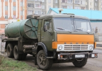 Вакуумная машина типа КО-505А на шасси КамАЗ-53213 #С 777 КК 45. Курган, улица Кравченко